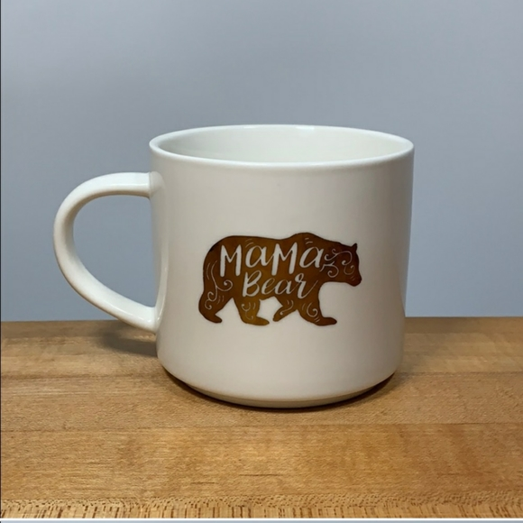 New Threshold Mama Bear Porcelain Coffee Mug